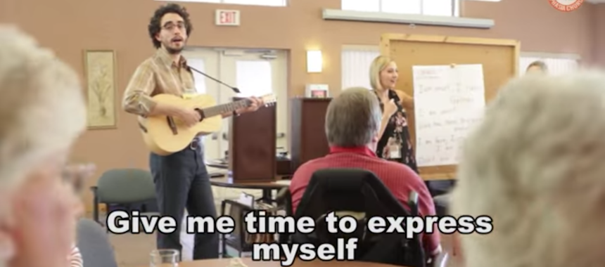 Aphasia awareness through music and song - National Aphasia
