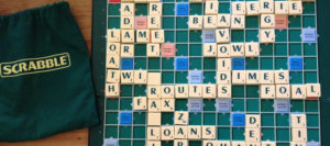 pair activities like scrabble with speech therapy