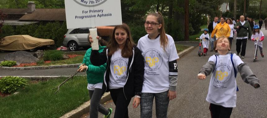 primary progressive aphasia awareness walk