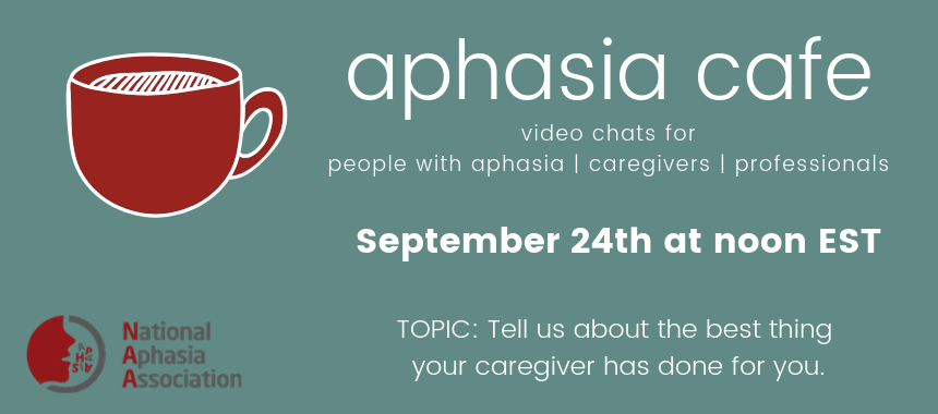 aphasia cafe caregivers