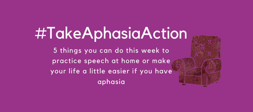 Take Aphasia Action