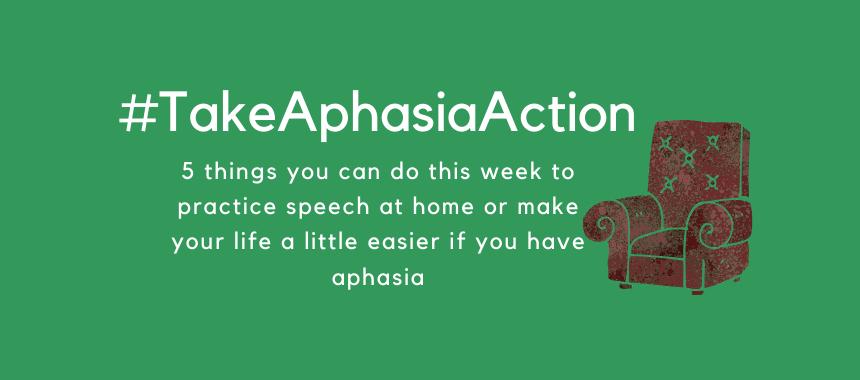 Take Aphasia Action