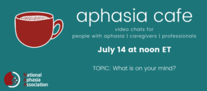 Aphasia Cafe